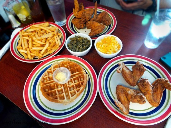 all-the-plates-rush-hour-chicken-and-waffles-dinner
