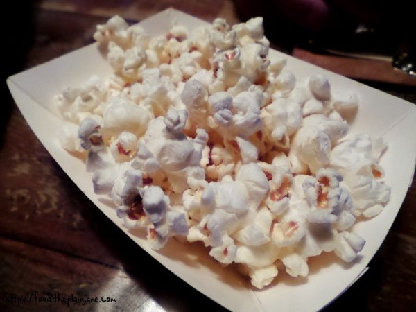 free popcorn appetizer