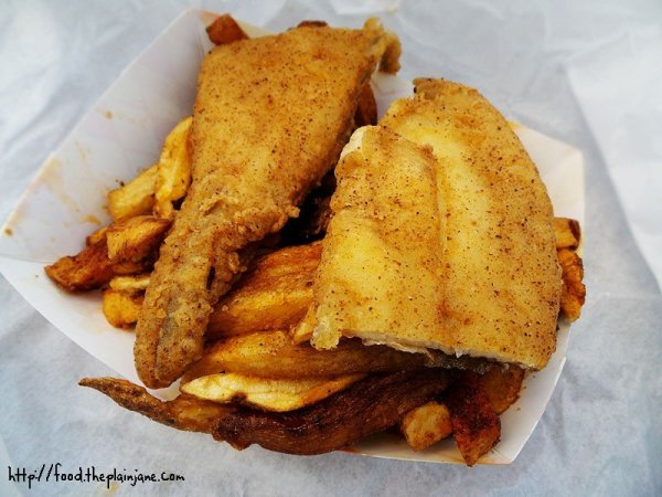 Two Piece Fish with Fries - Wings and Fish / Encanto - San Diego, CA
