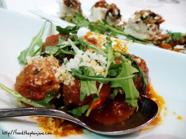 Sicilian Meatballs / Solare - San Diego, CA