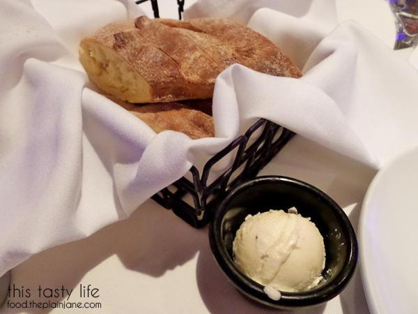 Freshly baked brea with butter at Greystone Steakhouse | San Diego, CA | This Tasty Life