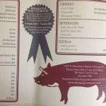 Q's BYOq catering menu
