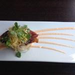 Unagi - broiled eel rice slider