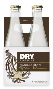 DRY Vanilla Bean is a 4-pack of 12 oz bottles