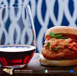 Let Nero d'avola spark your fried chicken/kimchee sandwich