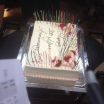 100 year anniversary cake
