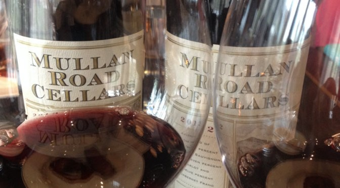 Mullan Road Cellars red blends 2012 and 2013