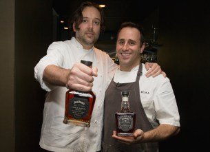 Chef Paul Liebrandt and Chef Lee Wolen