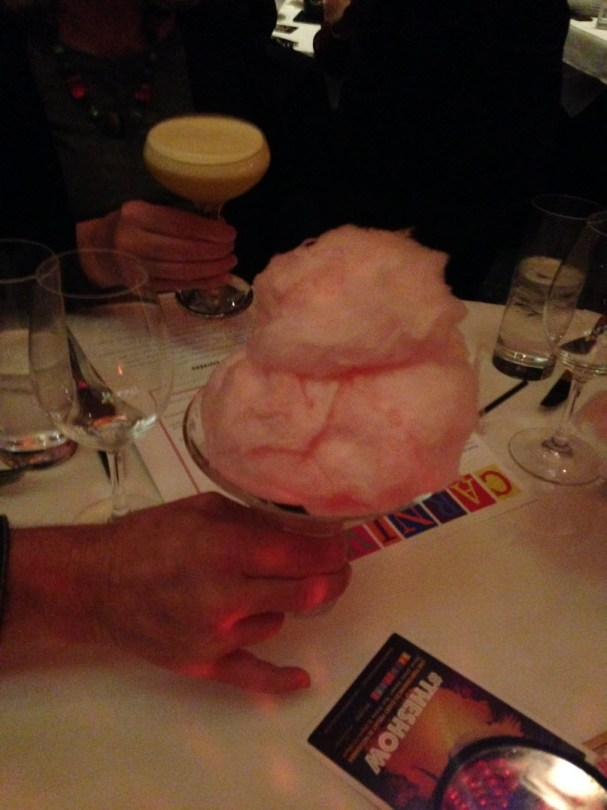 They've even got cotton candy drinks!