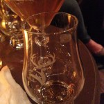 Etched Glenfiddich logo