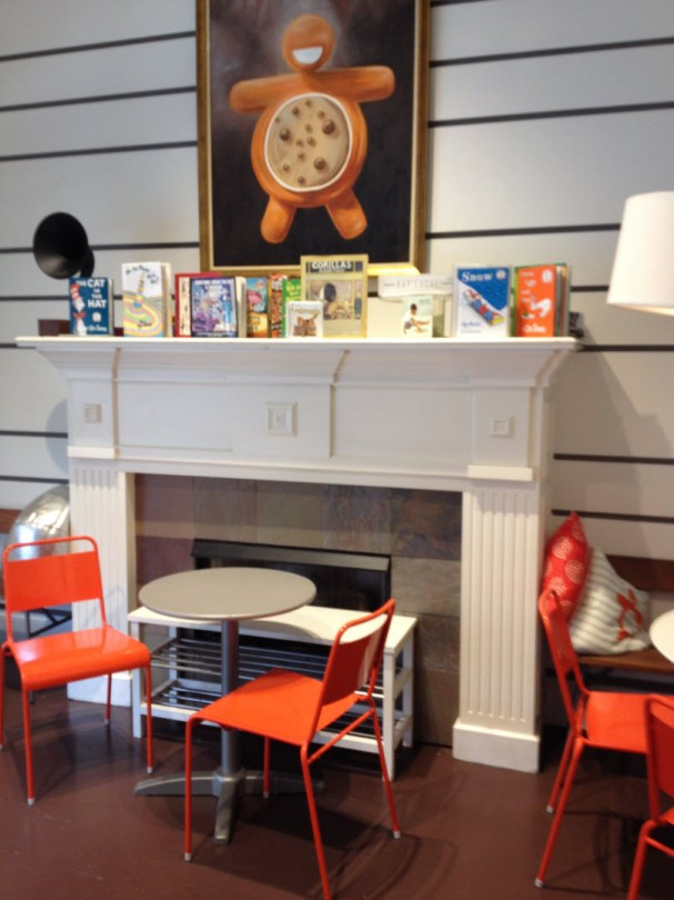 Reading nook for kids - and parents - Warm Belly West Loop
