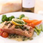 Trattoria Gianni Salmon au Vini Bianco