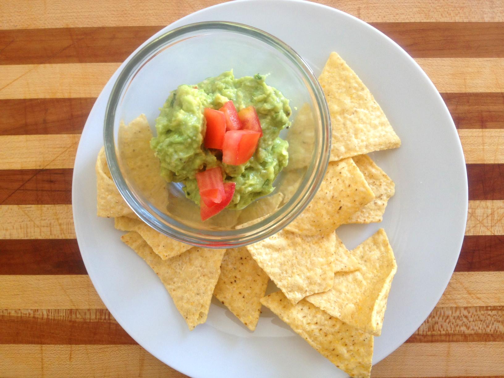 Simply Fresh Guacamole Recipe   Food Apparel