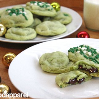 Chocolate Stuffed Peppermint Sugar Cookies at FoodApparel.com