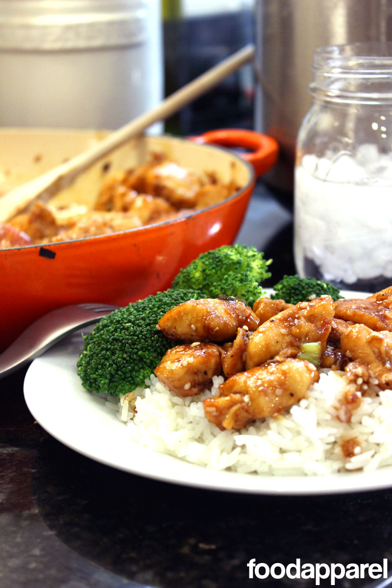 Easy Sesame Chicken over Rice: Quick 'N Easy Style