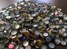 Bottle Caps! Glorious Bottle Caps!  As far as the eye can see...
