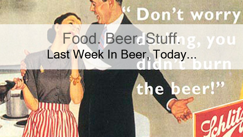 This weeks old beer ad courtesy of Schlitz Brewing. Remember, it was a different time...