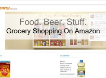 grocery shopping on amazon prime pantry