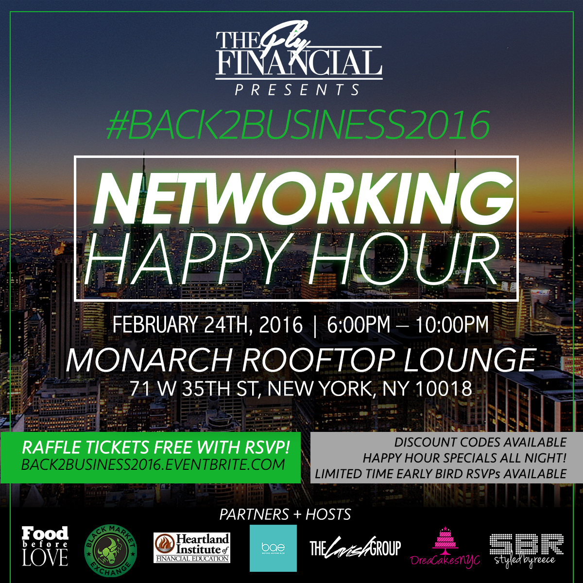 nyc networking event