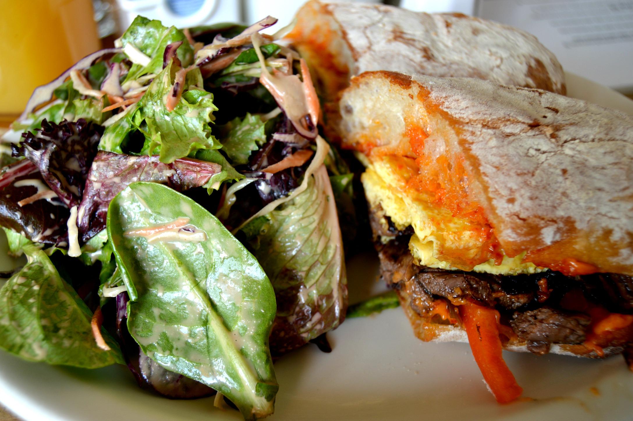 Yatenga Brunch Steak Sandwich