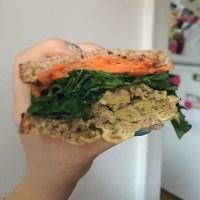 Seitan-ic Sandwich