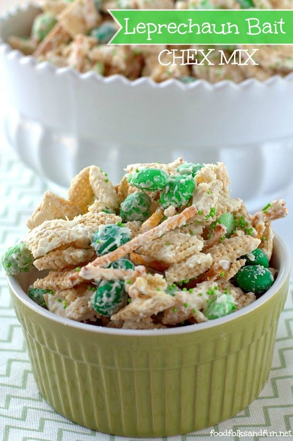 Leprechaun Bait Chex Mix
