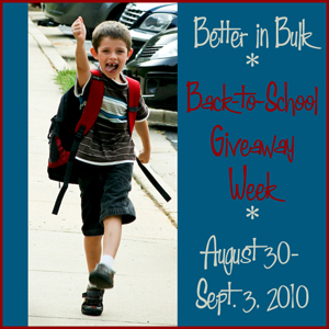 Back to School Giveaway Week!