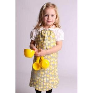 tagya girls yellow apron