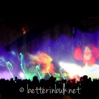 The World of Color at Disneyland's California Adventure
