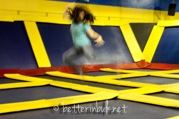 Stephanie's mad jumping skills