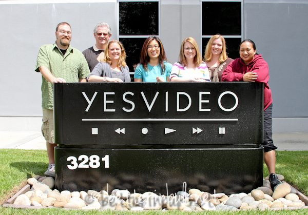 YesVideo DVD video transfer