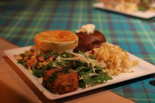 Scottish food at the Brave world premiere