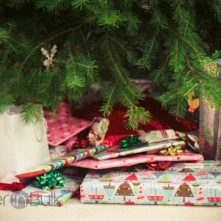 Wrapping. And Wrapping. And Wrapping