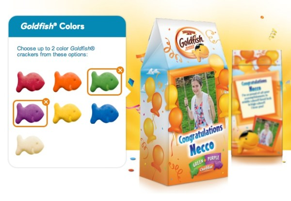goldfish my way colors