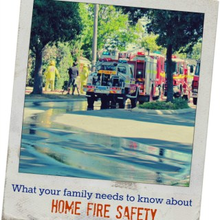 Kidde Home Fire Safety Tips and Worry-Free Smoke Alarm Giveaway