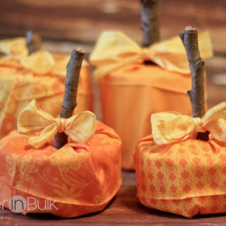 Easy No-Sew Pumpkin Craft – DIY Fall Decor