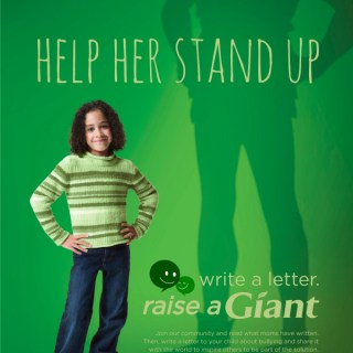 Help Kids Stand Up to Bullying #RaiseAGiant
