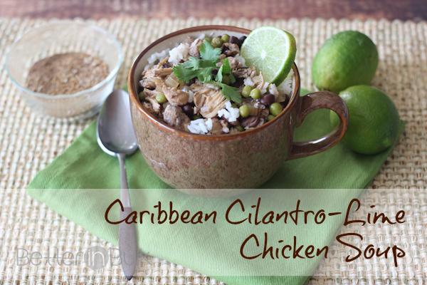 caribbean cilantro-lime chicken soup