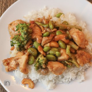 Spicy Honey Cashew Chicken #15MinuteSuppers