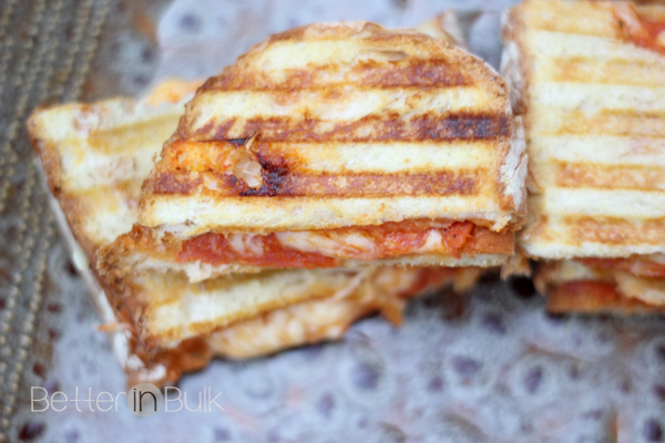 pepperoni pizza panini 15MinuteSuppers