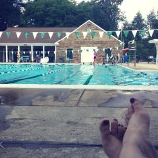 Swim Team #WordlessWednesday
