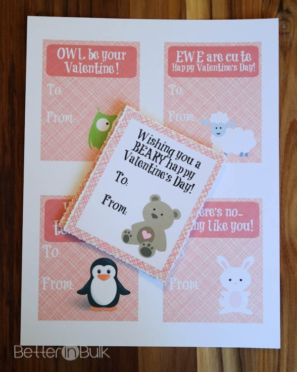 Free Printable Valentine's Day Cards