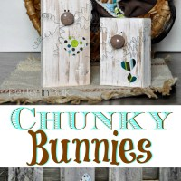 Chunky Bunnies - DIY Spring Craft