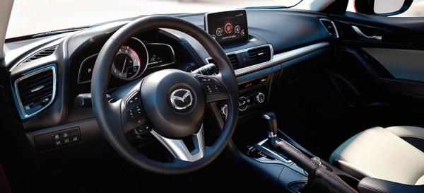 Mazda3 interior
