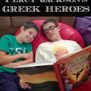 Percy Jackson's Greek Heroes #ReadRiordan