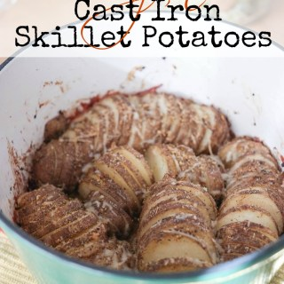 Cajun Cast Iron Skillet Potatoes