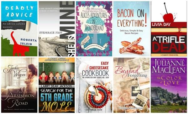 10 Free Kindle Books 9-26-15