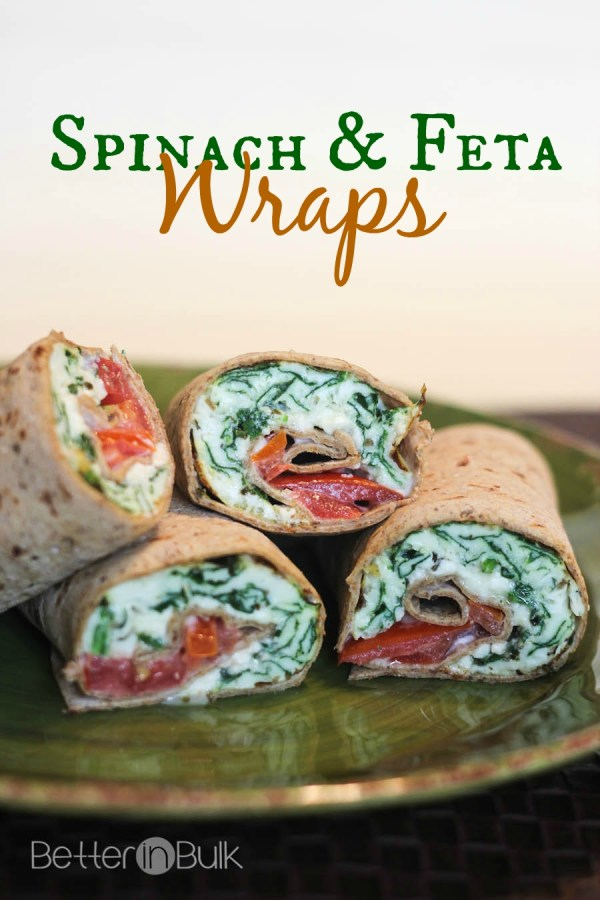 Take breakfast to a new level with egg whites-only Spinach And Feta Wraps. This easy and super healthy recipe is great for breakfasts on-the-go!