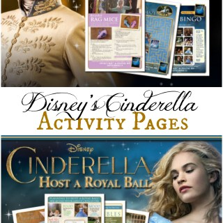 Disney's Cinderella Activity Sheets and Coloring Pages