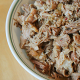 Crock Pot Cuban Shredded Pork